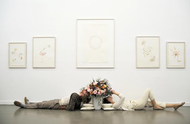 © LARS HINRICHS, BOUQUET, 2012, INSTALLATION VIEW